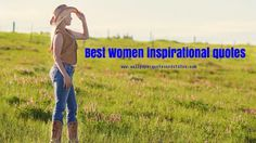 Best Women inspirational quotes