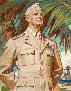 The General, oil on canvas 19.5 x 15.5 in. by Joseph Christian Leyendecker (American, 1874-1951)