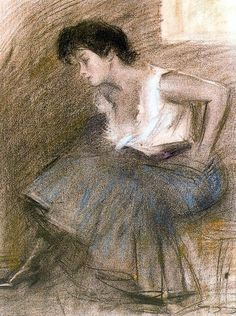 Maher Art Gallery: Ramon Casas i Carbó Spanish Painters, Spanish Artists, Ramones, Female Portrait, Portrait Art, Woman Portrait, Modernisme, Pastel Portraits, Pastel Paintings