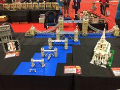 Lego Tower Bridge in different scales  @ BRICK 2014