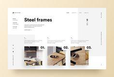 Tipografía UI - Proyecto 73 ux diseñador minimalista minimalista limpio diseño web w . Best Website Design, Site Web Design, Clean Web Design, Minimal Web Design, Graphisches Design, Web Design Company, Layout Design, Page Design, Graphic Design