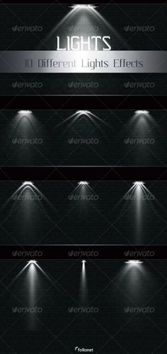 Light Effects by *Folksnet on deviantART