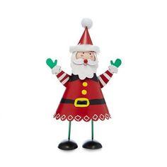 Debenhams Red small Santa bouncer decoration | Debenhams