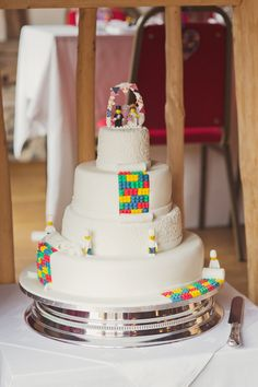 Cake Groomsman Topper