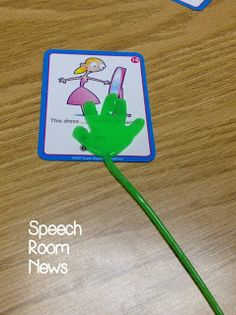 Speech Room News: Sticky Hands for Speech & Language!
