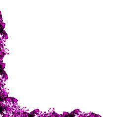 Purple Page Border Design HD sadiakomal