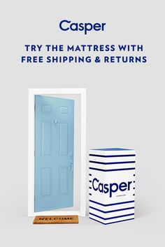 "Our outrageously comfortable mattress combines premium memory foam for support and a healthy bounce. The sleep surface lovingly contours to your body and keeps you cool throughout the night. The best part is, it's delivered straight to your door in a small ""how did they do that?"" sized box. Try the Casper for 100 nights, risk-free."