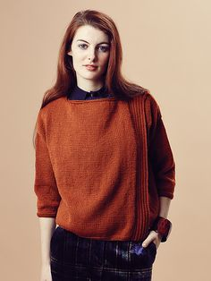 Kyle pattern by Marie Wallin, from the Rowan Pure Wool Worsted Autumn Collection