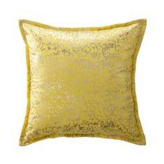 Xhilaration® Metallic Decorative Pillow - Citron/Gold