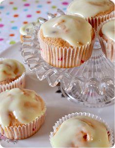 Lime raspberry cupcakes