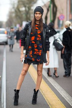 9 key pieces to shop for a cool model off-duty street style look: