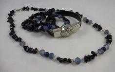 Tutorials van 't Kralenstulpje: Mooie set Lapis Lazuli van Tineke Okkema