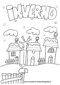 maestra Nella: il libro dell'inverno Winter Crafts For Kids, Winter Kids, Winter Christmas, Doodle Coloring, Coloring Pages, How To Speak Italian, Opposite Words, Italian Lessons, D Book