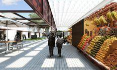 Galeria de Primeiro Lugar no Concurso para a Requalificação do Mercado Público de Lages-SC / Zulian Broering + Zanatta Figueiredo - 9