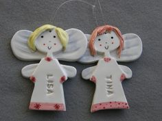 Personalized AngelCustom Made Ceramic Angel by TatjanaCeramics, $7.50