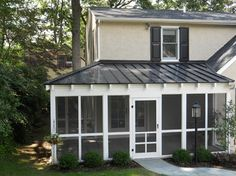 Screened Porch and Patio traditional-porch
