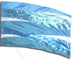 fi306lg Blue Color Guard flag from The Band Hall