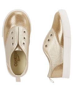 Baby Girl OshKosh Sparkle Slip-On Sneakers | OshKosh.com