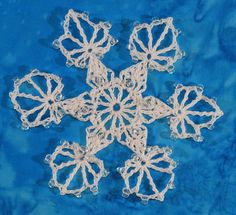 I had planned to do only two snowflakes for the Ravellenics, but how can anyone resist competing in an event with an awesome title such as B...