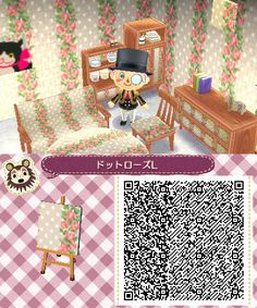 Animal Crossing Qr Codes Floor Home Purple