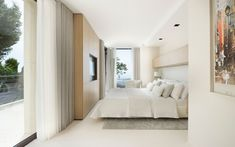 Exquisite French Villa Design in Villefranche sur Mer, Côte d'Azur French Villa, Huge Bedrooms, Modern Villa Design, Villefranche Sur Mer, House Furniture Design, Modern Mountain Home, Black Decor, Living Spaces, Interior Design