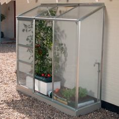 Vitavia Ida x Aluminium Greenhouse with FREE Base - Horticultural Glass Aluminium Greenhouse, Free Base, Roof Vents, Safety Glass, Terrarium, Outdoor Structures, Collections, Products, How To Make Paper Flowers