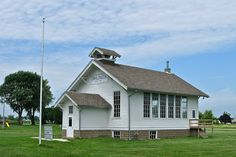 This one room schoolhouse was located next to my Grandmothers house.