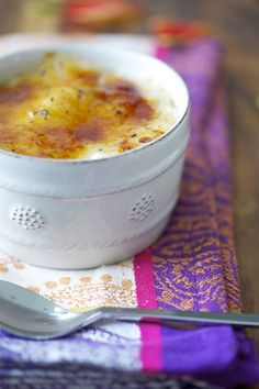 CAKE ON THE BRAIN: COCONUT-VANILLA RICE PUDDING BRULEE (GF)