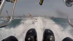 Défi Wind Gruissan 2015 - 1200 windsurfers - 50 knots of wind - Marathons races