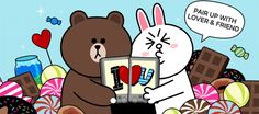 Cony Brown, Brown Bear, Brown Line, Line Friends, Love Gifts, Libra, Cute Pictures, Cartoon, Stickers