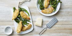 I Quit Sugar - Crunchiest Cheese Rind Crusted Chicken