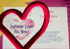 Free Augmented Reality Infinity Heart from DesignRosetta.com