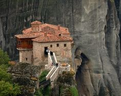Though I am very afraid of heights, I dream of visiting Meteora's monasteries in Greece