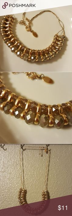 Gold Beaded Necklace The perfect necklace for dressing up or some casual bling! Jewelry Necklaces