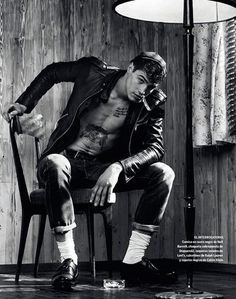 Italian Model Andy Walters at WhyNot by Giampaolo Sgura for Spanish magazine El País