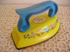 Vintage Toy Iron Sunnie Miss TREASURY Item by DebsCollectibles, $12.00