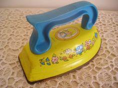 Vintage Toy Iron Sunnie Miss~~