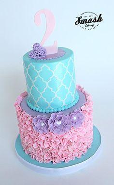 latest ruffle cake