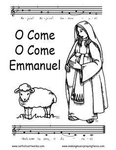1000 images about coloriages images pieuses et bibliques for Catholic christmas coloring pages