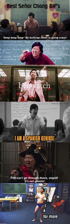 Señor Chang from Community #GIF