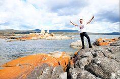 The Stunning Bay of Fires - Hidden Gem of Tasmania #travel #ttot #discovertasmania @Tracy Sparks www.parkmyvan.com.au #ParkMyVan #Australia #Travel #RoadTrip #Backpacking #VanHire #CaravanHire