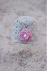 Čiapky - dievčenská čiapočka - 2631170