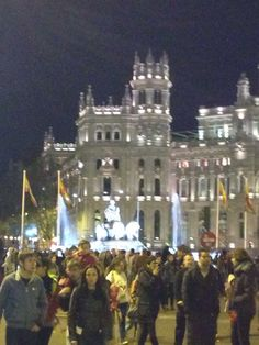 Plaza Cibeles (Madrid)