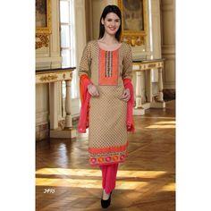 Beautiful Cotton Silk Suit