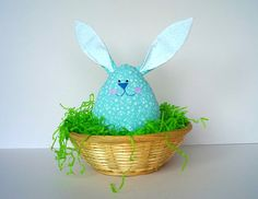Hey, I found this really awesome Etsy listing at https://www.etsy.com/listing/182433644/easter-egg-bunny-plush-ornament-home