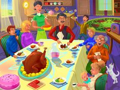 Happy Thanksgiving! jigsaw puzzle in Puzzle of the Day puzzles on TheJigsawPuzzles.com