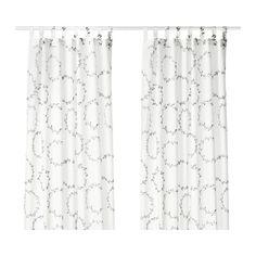 VINTER 2016 Gardinenpaar IKEA Blickdichte Gardinen schirmen Lichteinfall effektiv ab und sorgen für Privatsphäre.