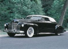 1941 Buick - The Pisano/Ogden Buick was a 1941 convertible originally built by drag racers Tony and Joe Pisano