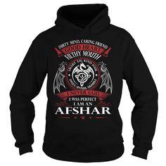 AFSHAR Good Heart - Last Name, Surname TShirts
