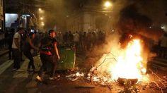 Manifestantes ingresaron al Congreso de Paraguay y lo prendieron fuego: El grupo de manifestantes irrumpió luego de que los senadores…